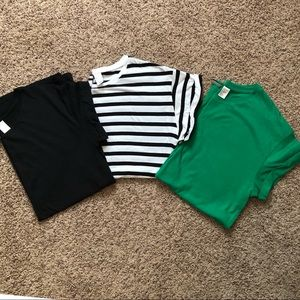 Set of 3! H&M Basic Tunic Tees